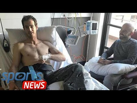Andy Murray sends fans message from hospital after hip surgery