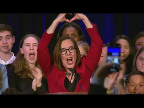Governor Kate Brown's victory speech