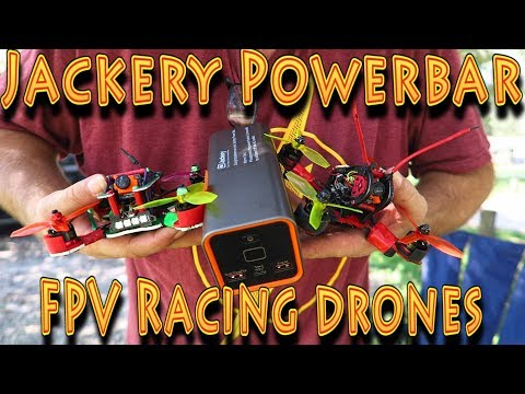 Review: Jackery Powerbar Indiegogo FPV Drones!!! (09.20.2017)