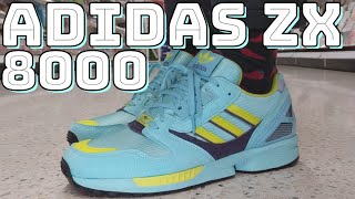 ADIDAS ZX 8000 AQUA REVIEW - On feet, comfort, weight, breathability and price review