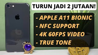 Sekarang Cuma 2 JUTAAN Aja Loh!   Apple iPhone 8 Unboxing Dan First Impresi (2021)