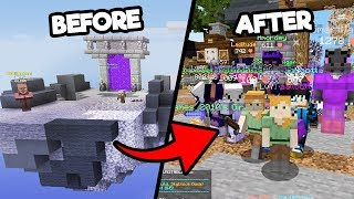 this SKYBLOCK clip will have 1 million views - SKYBLOCK 2 PART 1