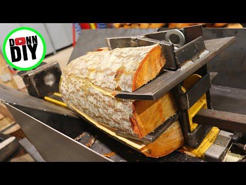 wedge-&-split-wood-platform---log-splitter-to-firewood-processor-ep.-1
