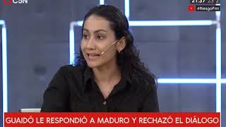 Alicia Castro - Sobre la situación en Venezuela