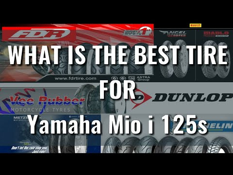Yamaha mio i 125s: What is the best tire? | Suggestion | brand tire | Matibay | Dry and wet tires