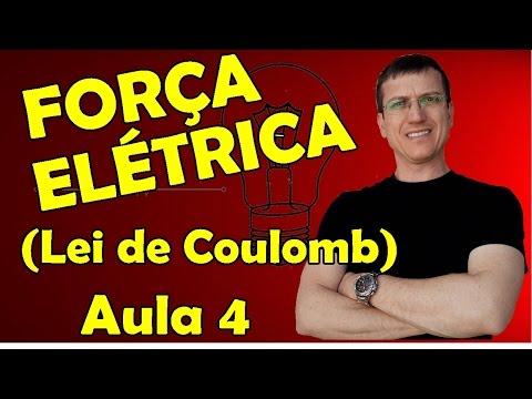 FORÇA ELÉTRICA (LEI DE COULOMB) - ELETROSTÁTICA - AULA 4 - Prof.  Marcelo Boaro