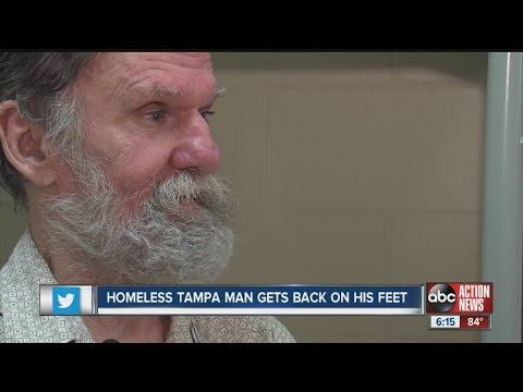 Homeless man discovers forgotten bank account