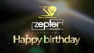 Happy Birthday, Zepter! Celebrating 30 Years of Excellence!