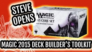 Magic 2015 Core Set (m15) Deck Builder's Toolkit Unboxing - Let's Build!