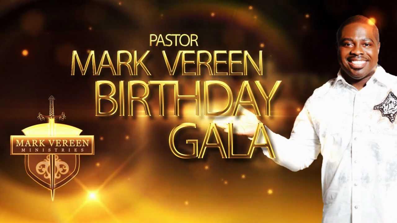 Pastor Mark Vereen (Birthday Gala) Invitation - YouTube