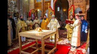 Освящение храма в с. Староказачье