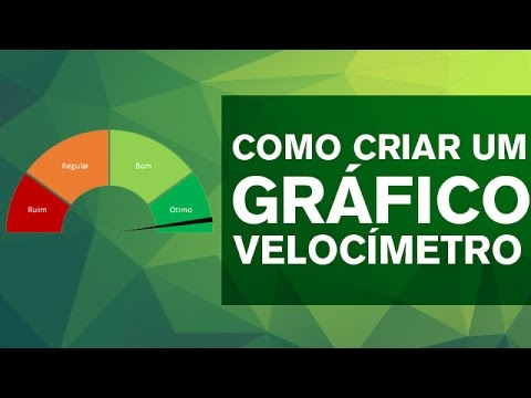 [Excel] Passo a Passo: Gráfico de Velocímetro
