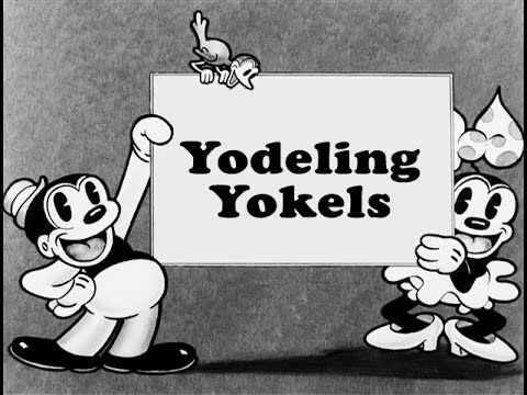 Yodeling Yokels 1931 Bosko And Honey Youtube