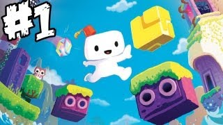 Fez - Gameplay Walkthrough - Part 1 - SPIN THAT MARSHMALLOW - XBLA (Commentary and  Impressions)