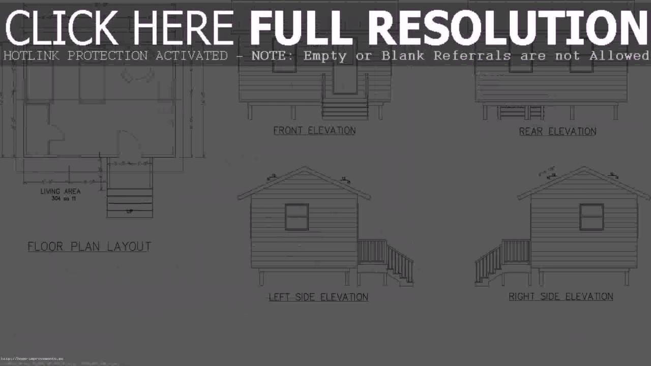 House Plan Design 14x20 - YouTube