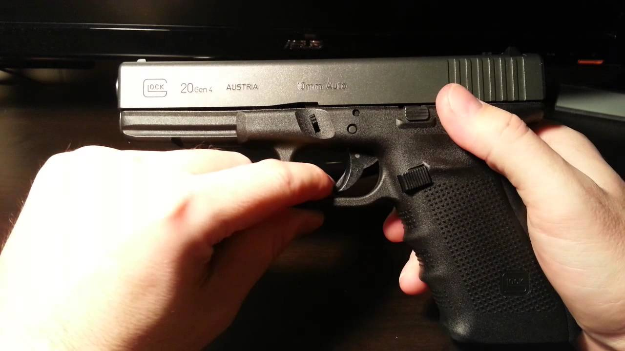How Does The Glock Safety Work? | Gun Belts Blog