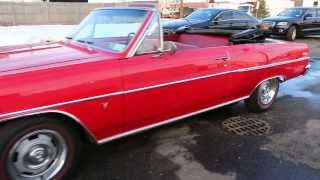 1964 Chevrolet Chevelle Malibu Convertible For Sale~283~4 Speed~Power Disk Brakes~Power Steering