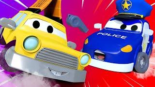 Фото малыши в Автомобильном Городе   Играем в Стоять Полиция   детский мультфильм