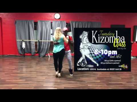 Kizomba/Urbankiz dance class with Magic mike