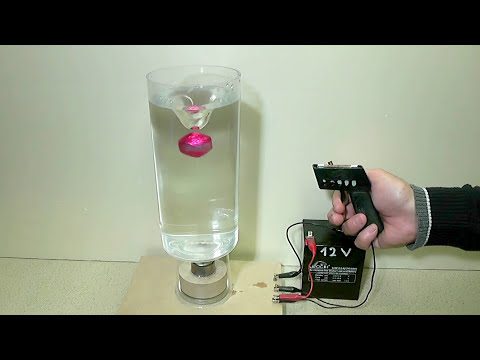 Water Vortex with magnetism