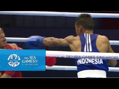 Boxing (Day 5) Men's Light Flyweight (46kg-49kg) Finals Bout 68 | 28th SEA Games Singapore 2015