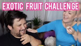 Tasting Exotic Fruit Challenge ... may be Poison. VLOG 121