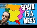 Hearts Of Iron 4 HOI4 Trying To Unite Spain Kaiserreich Mod Waking The Tiger mp3