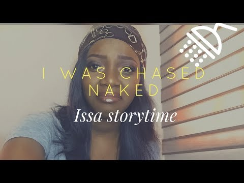 I was chased naked|nigerian secondary school story| storytime thumbnail