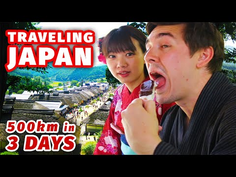 Traveling Japan in Style | 500km in 3 Days