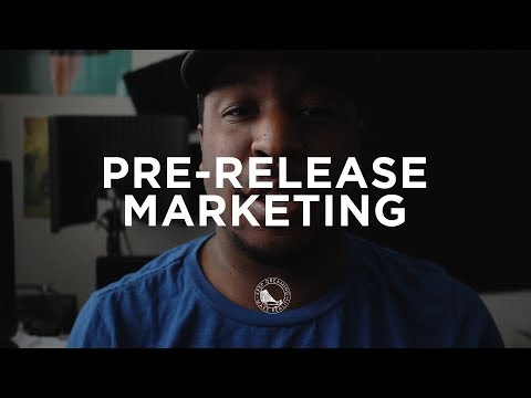 Music Marketing - What Goes In a Pre-Release Marketing Plan