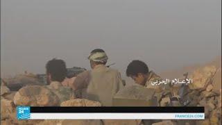 اشتداد المعارك في محافظة الجوف اليمنية قرب الحدود السعودية