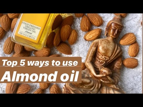 almond-oil:-5-best-ways-to-use-the-sweet-almond-oil