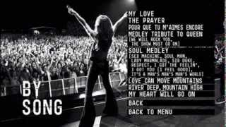 (MENU DVD) - Celine Dion Taking Chances World Tour