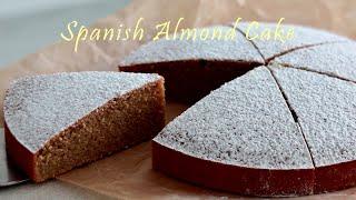 [ENG] 노밀가루! 스페인 전통, 아몬드 케이크(스페…