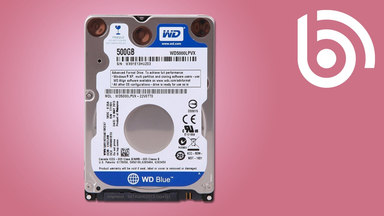 Western Digital Wd5000lpvx Hard Drive Installation Youtube Harddisk 35 Inch Sata 500gb Seagate Slim