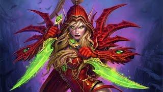 История Валиры Сангвинар в мире World of Warcraft