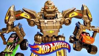 Hot Wheels Maximum Destruction Battle Pixar Cars Toon Monster Truck Frightening McMean Grave Digger