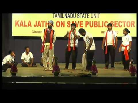 Bank - Grand Finale of Kala Jatha on Save Public Sector