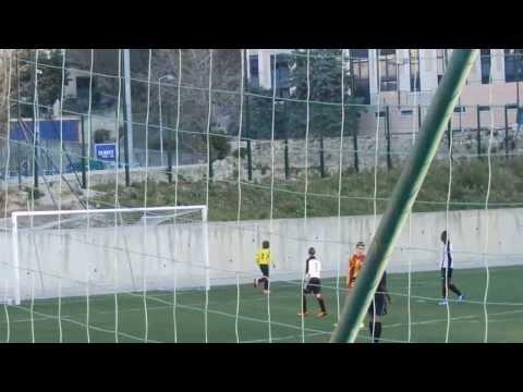 Match de championnat U15 pré-excellence Cavigal Nice / AS Roquebrune Cap Martin 15/12/2013