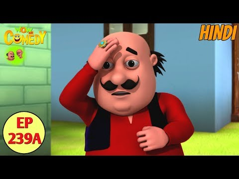 Motu Patlu | Motu Patlu Cartoon in Hindi | Jaadui Anguthi  | Funny Cartoon Video thumbnail