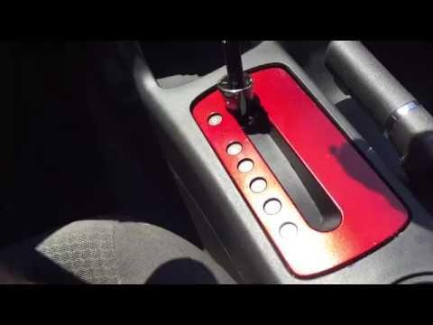 How To Remove Trim In Pontiac G6 (Center Console)