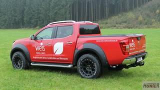 Hurter Offroad - Nissan Navara - Fa. Weis Natur und Raum