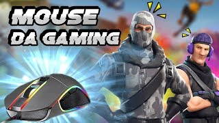 MOUSE DA GAMING PER FORTNITE PS4 - PC! 🖱️ (KLIM AIM) - Pazzox
