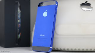 Custom Blue IOS 6 iPhone 5 Build & Restoration