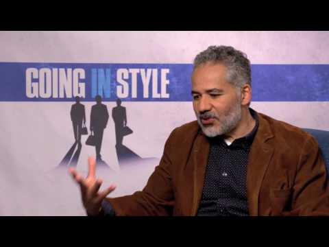 """John Ortiz Talks About """"Going in Style"""""""