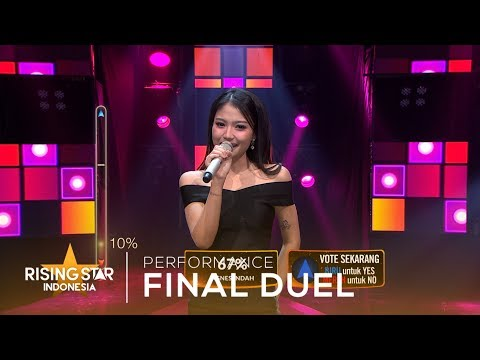 Image of Mirriam Eka Ratu Sejagad | Final Duel | Rising Star Indonesia 2019