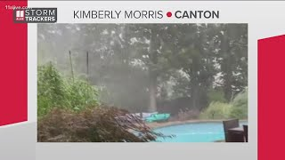 Severe thunderstorm warning issue for multiple metro Atlanta counties