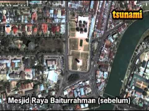 Map Tsunami aceh