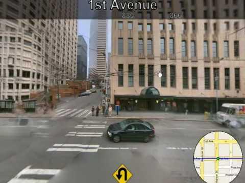 Microsoft Research Street Slide View
