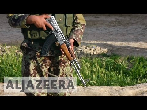 Taliban fighters attack Afghan army base